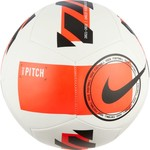 NIKE PITCH 21/22 BALL (WHITE/RED)