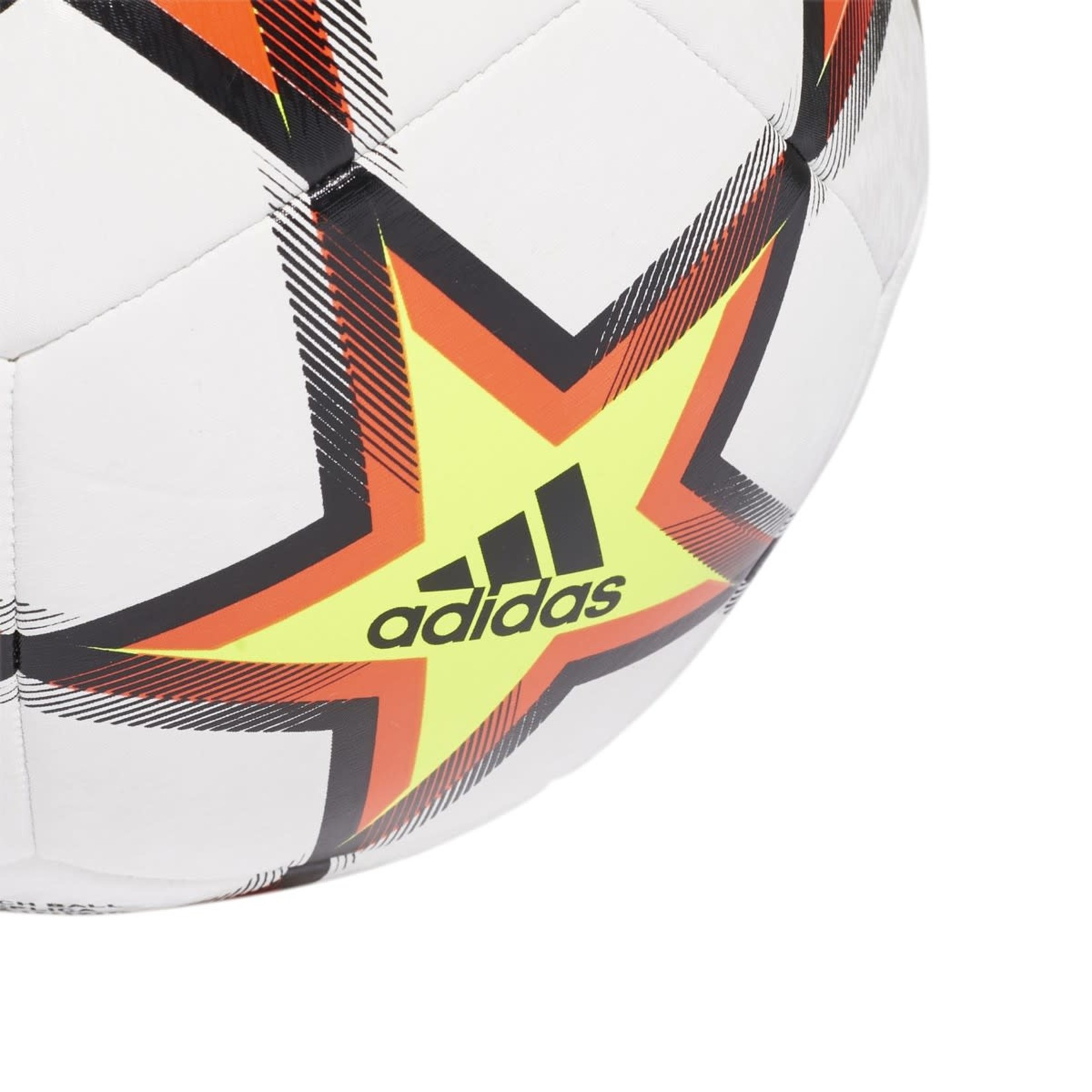 ADIDAS FINALE 21 UCL TRAINING PYROSTORM BALL (WHITE/RED)