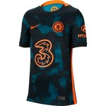 NIKE CHELSEA 21/22 THIRD JERSEY YOUTH (BLACK/GREEN)