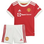 ADIDAS MANCHESTER UNITED 21/22 HOME BABY KIT (RED)