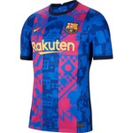 NIKE FC BARCELONA 21/22 THIRD JERSEY (BLUE/MAROON)