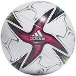 ADIDAS CONEXT 21 LEAGUE BALL (WHITE/GREEN/BLUE/PINK)