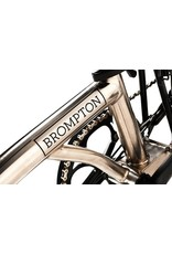 Brompton Brompton - M6LA - Nickel/Black Edition - B17 Brooks Blk