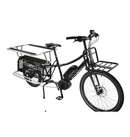 Xtracycle - Edgerunner 8E w/Porter rack, U-Tube foot rests, Hooptie Handrails -M/L