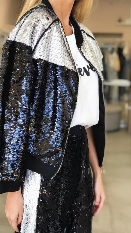 Sequin Covered Bomber