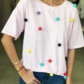 Multi Pom Pom T-Shirt