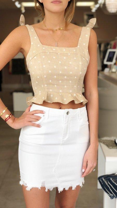 Bottom Cut Off Skirt