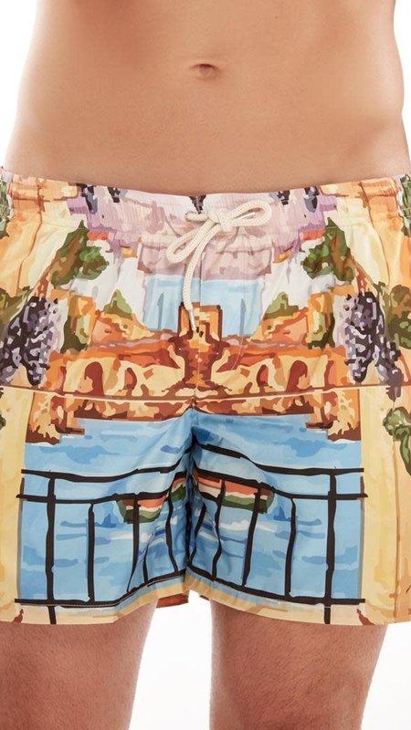 Amalfi Print Swimwear