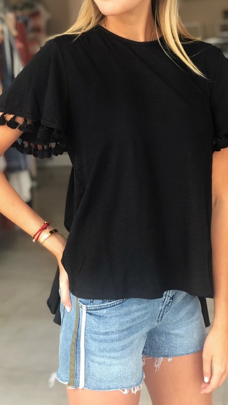 Laine Side Stripe Boyfriend Shorts