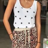 Leopard Distressed Short