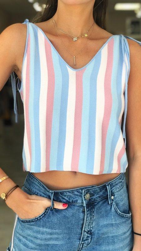 Down Stripes Top