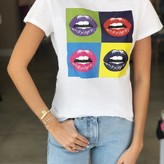 POP Lip Print Tee