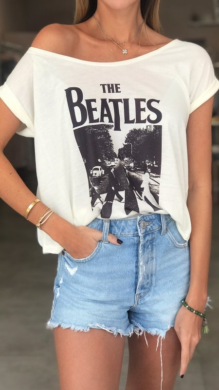 Abbey Road The Beatles Dolman Sleeve Top