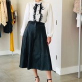 Noir Faux Leather Skirt