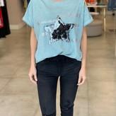 Melanie Sequin Star Detail T-Shirt