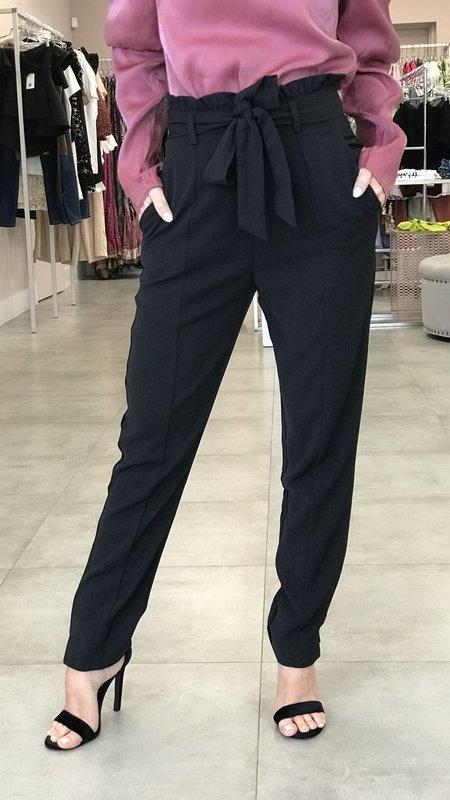 Blair Paperbag Tie Waist High Rise Pants