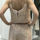 Riso Sequins Cami Romper With Elastic Waist