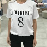 """J'adore"" Graphic Tee"
