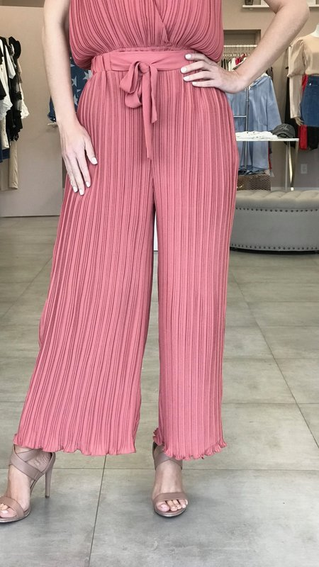 Issey Pleated Leg Pants