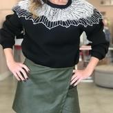 Karol Rhinestone Detail Sweater