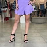 Paloma Lace Hem Shorts