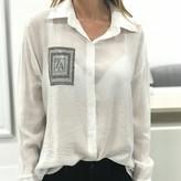 Nicole Boyfriend Blouse With Front Pocket