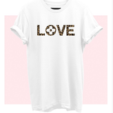 Love Leopard Graphic Tee