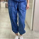 Eve Striped Pants with Tie