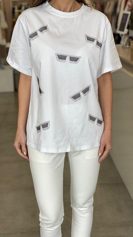 Nava Cool T-Shirt with Rhinestones