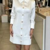 Lela Long Sleeve Tweed Dress