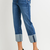 Calixta High Rise Jeans With Cuff