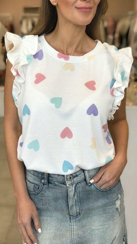 Roxy Hearts Sleeveless Top