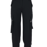 Lynn Cargo Pants With Buckles on Pockets
