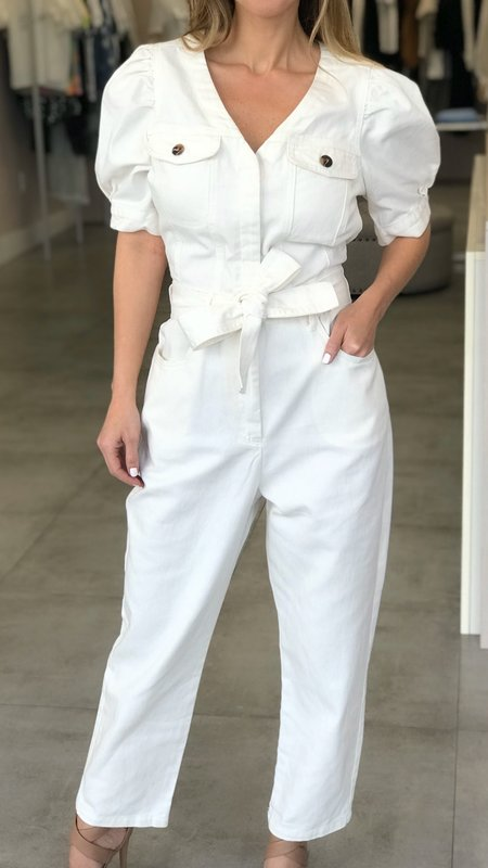 Jayme Puff Sleeve Jumpsuit