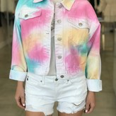 Unicorn Tie-Dye Denim Jacket