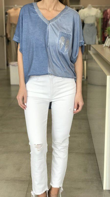 Rene - High Rise Straight Jean