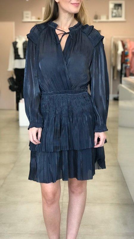 Daysie Pleated Tiered Dress