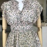 Birgit Ruffled  Floral Print Blouse