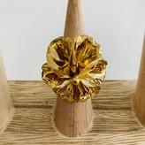 Selene Adjustable Flower Ring