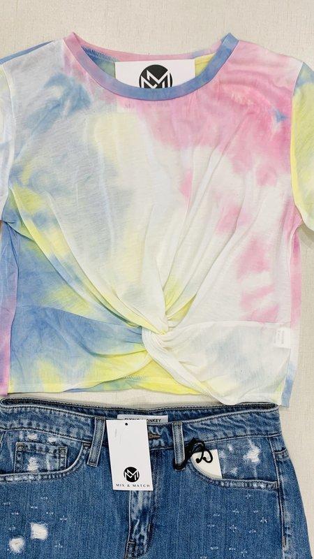 Christy Tie Dye Crop Top