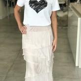 Charlotte Angled Long Skirt