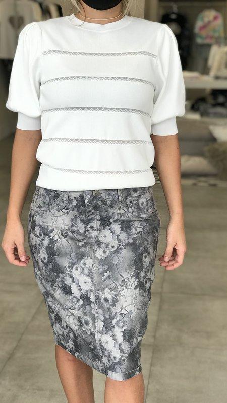 Ava Reversible Flower Skirt