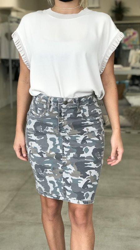 Dawn Camo Skirt ( Reversible)