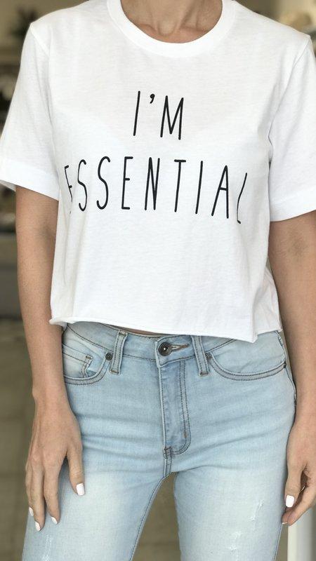 I'm Essential Crop Top