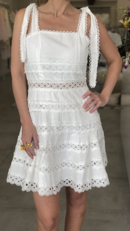 Katalina Eyelet Dress