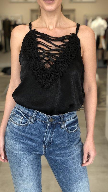 Olivia Criss Cross Lace Cami