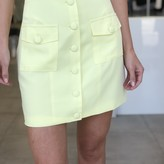 Marci Button Down Mini Skirt