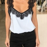 Morgan Lace Trim Cami-Top
