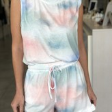 Amelia Tie-Dye Lounge Wear Short Set