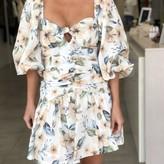 Madison Long Puffy Sleeve Dress